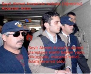 Sıradan bir ülkücü idi. Seyit Ahmet Arvasi'yi tanıdı (taliban) tetorist oldu.